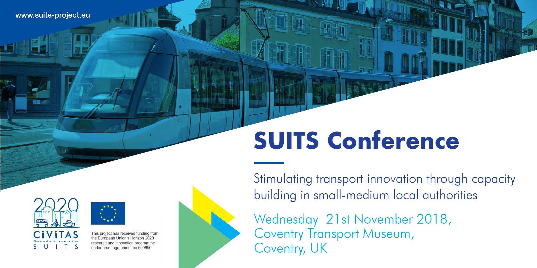 Join us at SUITS Conference, 21st November, Coventry