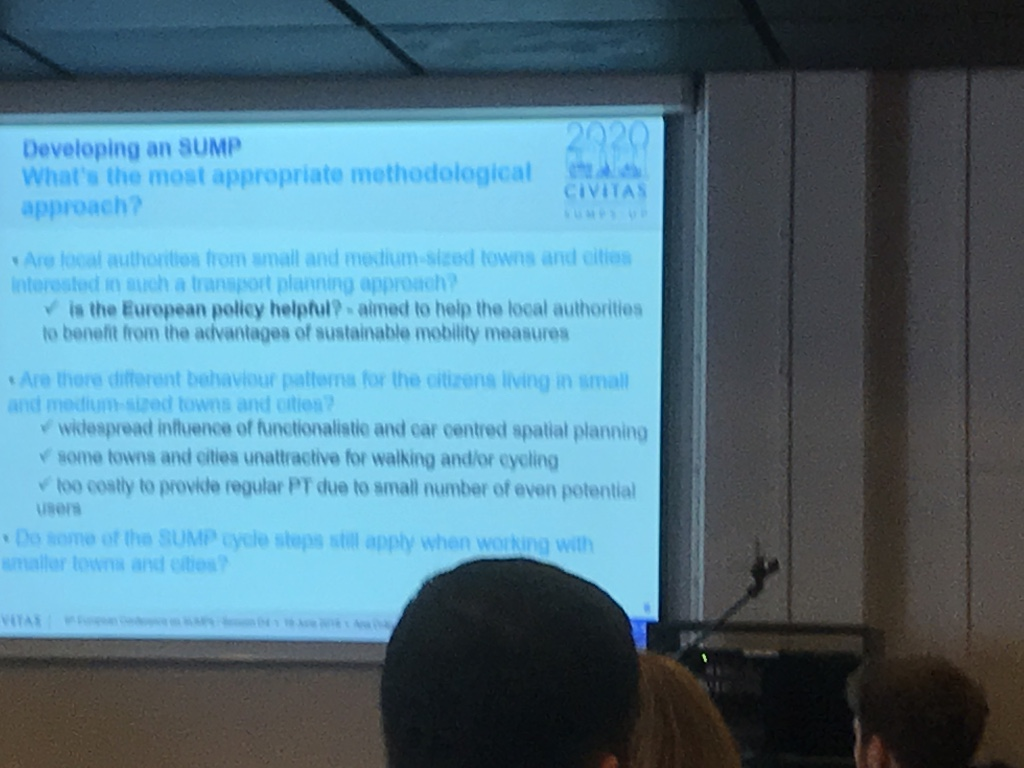SUITS @6th European Conference on Sustainable Urban Mobility Plans, Groningen, 17-18 June 2019