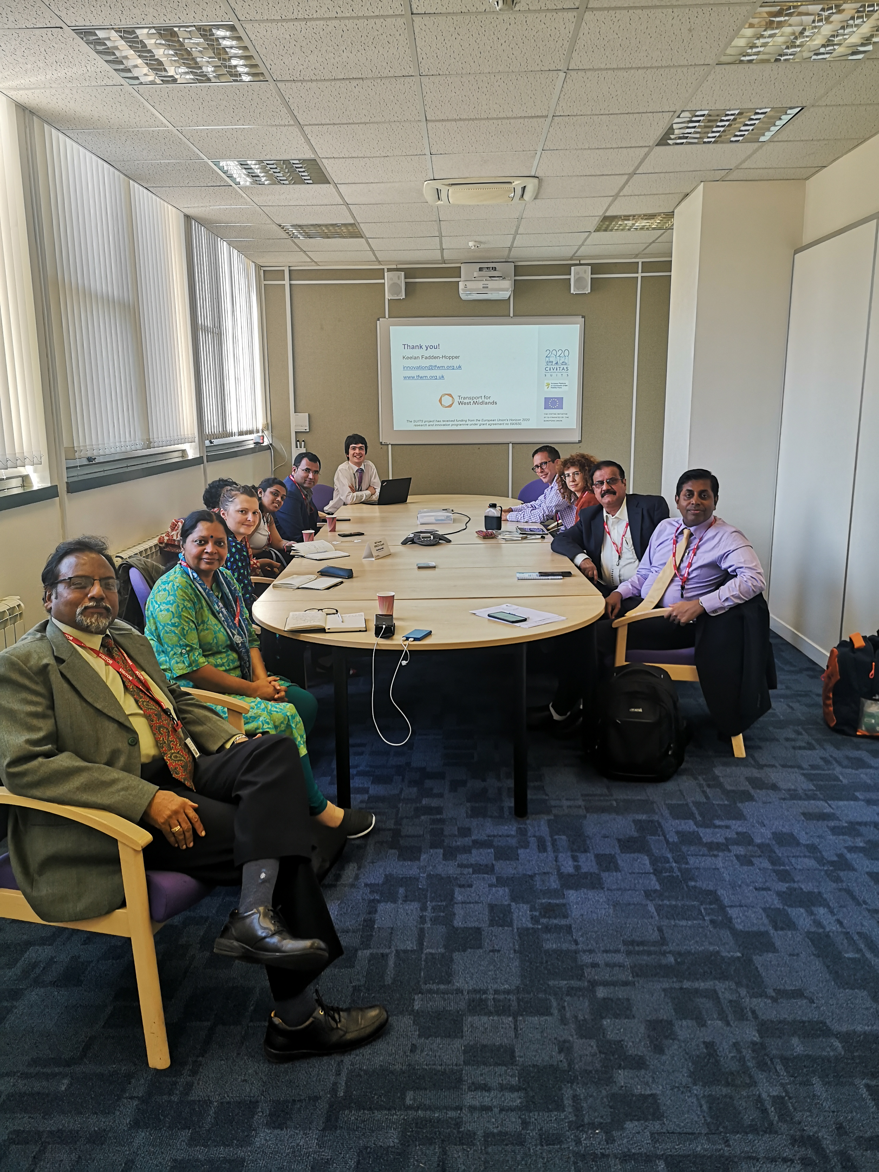 West Midlands hosted the Indian Smart Cities mission, 19th September, Birmingham