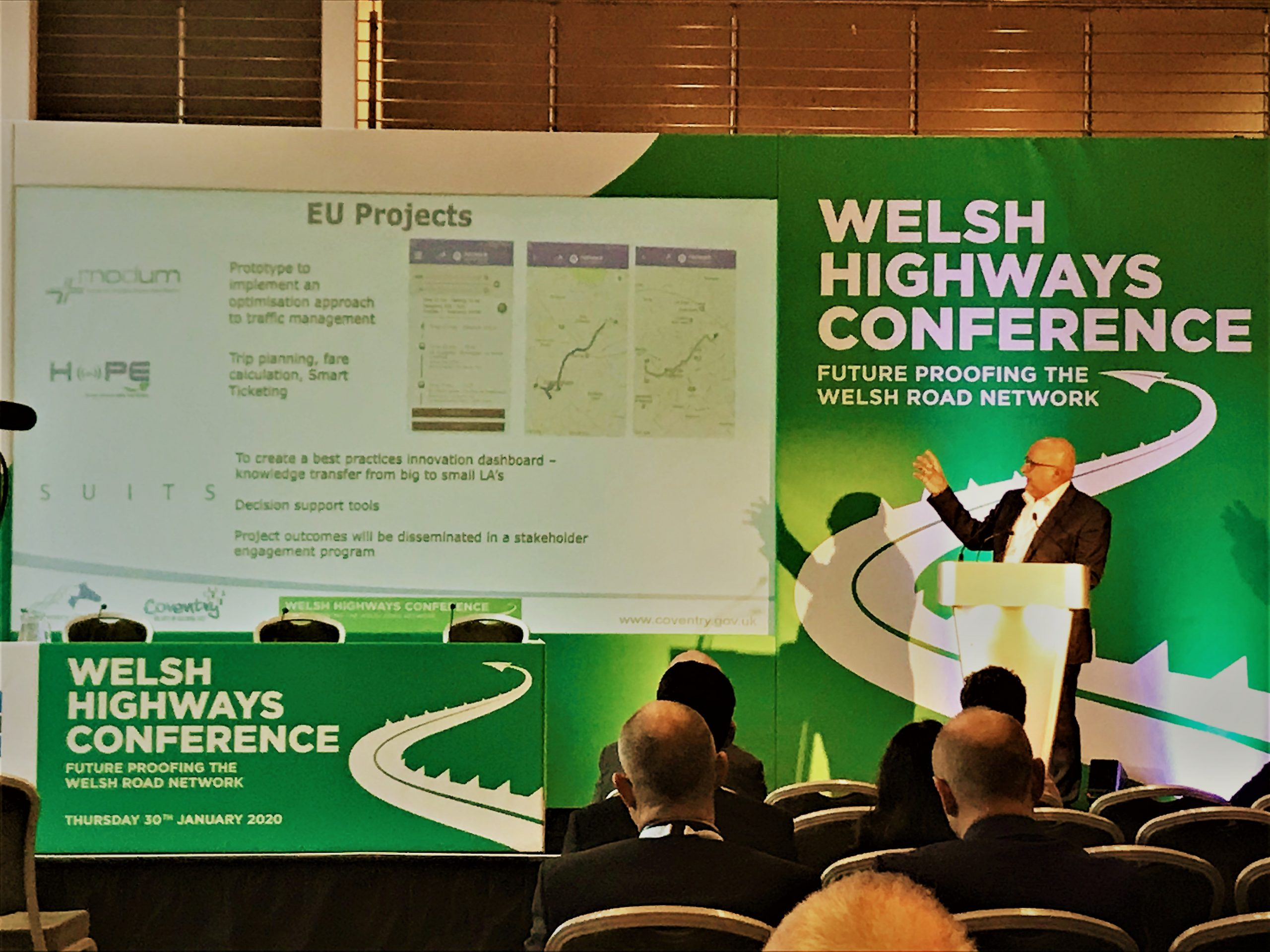 SUITS @Welsh Highways Conference 2020